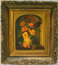 French School, 19th/20th Century      Still Life with Flowers in a Vase.