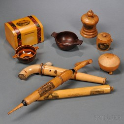 Forty Pieces of Mauchline Ware