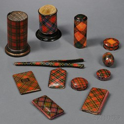 Thirty Pieces of Tartanware