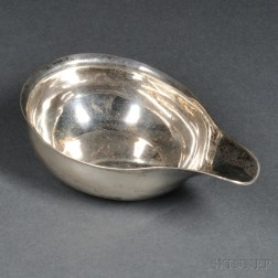 George III Sterling Silver Pap Boat