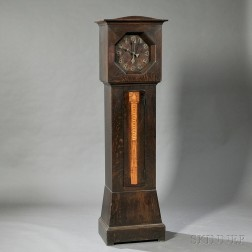 Shop of the Crafters Arts & Crafts Tall Clock