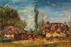 Mark Fisher (Anglo/American, 1841-1923)      Normandy Farm