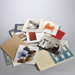 Collection of Pamphlets, Auction Catalogs, and Photographs Related to the Shakers
