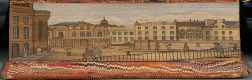 Fore-edge Paintings, Edinburgh Subjects: George Street; The Theatre, North Bridge; Lawn Market from St. Giles Church; and The Universit