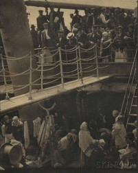 Alfred Stieglitz (American, 1864-1946)      The Steerage