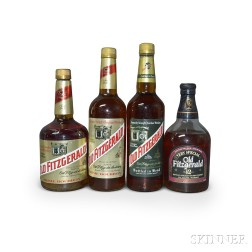 Mixed Old Fitzgerald, 4 750ml bottles