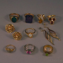 Small Group of Assorted Jewelry