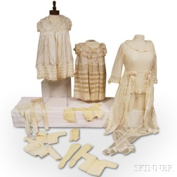 Group of Antique Undergarments and Textiles