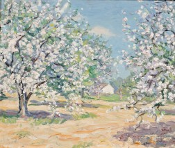 Henry Asbury Rand (American, 1886-1961)      Orchard in Bloom