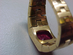 18kt Gold and Ruby Ring, Cartier