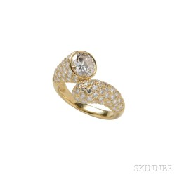 18kt Gold and Diamond Ring, Harry Winston