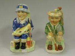 Two Kevin Francis Limited Edition Ceramic Toby Jugs