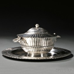 Mexican Sterling Silver Tureen and Undertray