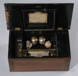 Automata and Bells Musical Box for the Chinese Market