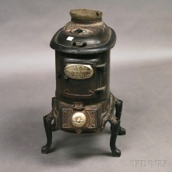 Cast Iron No. 18 Ivy Auto Stove