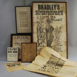 Seven Early American Ads and Posters