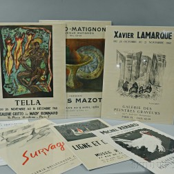 Seven French Posters