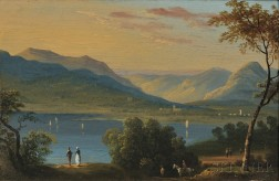 Attributed to William Guy Wall (American/Irish, 1792-1864)      On The Hudson River