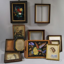 Eleven Framed Items