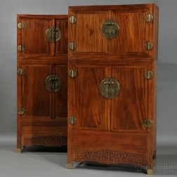 Pair of Compound Wardrobes