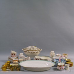 Large Group of Assorted Ceramic and Glass Tableware