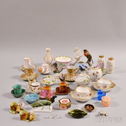 Group of Mostly Porcelain Decorative Items