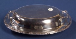 American Sterling Covered Vegetable Dish