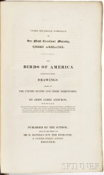 Audubon, John James (1785-1851) Ornithological Biography,   with the Prospectus for The Birds of America.