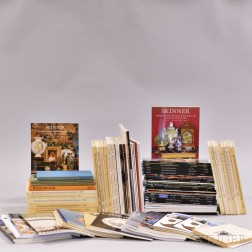 Approximately Ninety-six Wedgwood Related Auction Catalogs, Wedgwood International Books, and Ars Ceramica   Magazines.