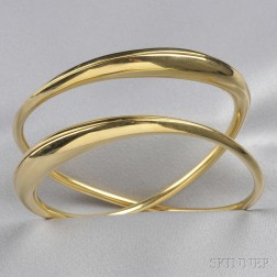 18kt Gold Bracelet, Michael Good