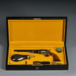 """Cased Colt Reproduction """"Signature Series"""" Model 1860 Army Revolver"""