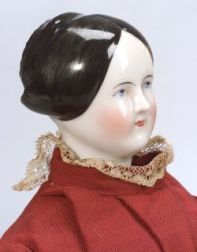 China Shoulder Head Doll with Bun