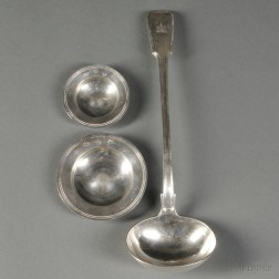 Victorian Sterling Silver Punch Ladle