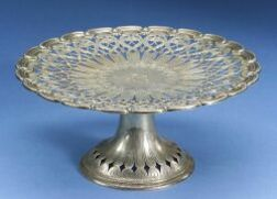 Tiffany & Co. Sterling Silver Reticulated Tazza
