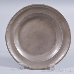 Pewter Plate