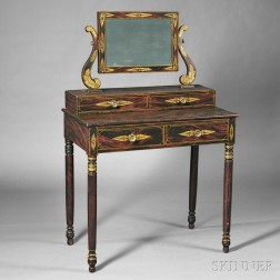 Paint-decorated Dressing Table