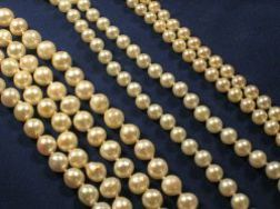 Three Cultured Pearl Necklaces
