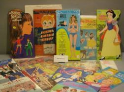 Lot of Cut and Uncut Paper Doll Books