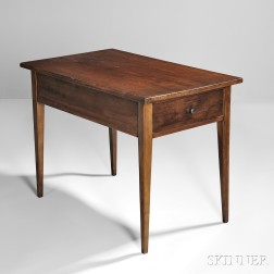 Shaker Cherry and Maple Table