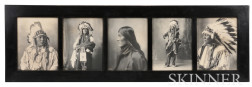 Five Framed F.A. Rinehart Photographs