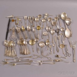 Group of American Sterling Silver Flatware