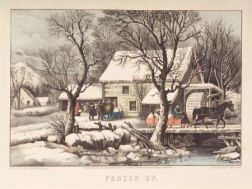 Currier & Ives, publishers (American, 1857-1907)    Frozen Up.