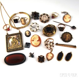 Assorted Group of Mostly Victorian Jewelry
