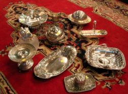 Ten Assorted Victorian Silver Plated Table Items