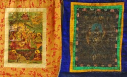 Four Hanging Scroll Thangkas