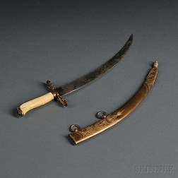 Midshipman's Dirk and Scabbard