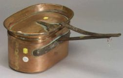 French Copper Stew Pot with Lid