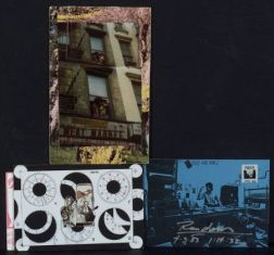 Collection of Mail Art Works/Traded Postcards from International Artists