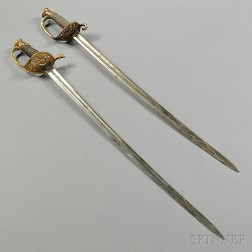Two U.S. Civil War-era Swords