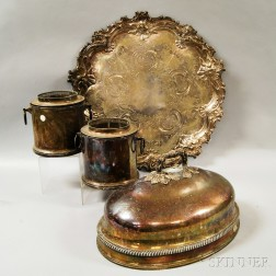 Four Silver-plated Items